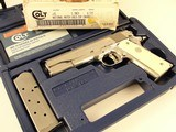 Colt Gold Cup National Match MK IV Series 80 BSTS IVORY NIB - 6 of 19