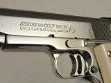 Colt Gold Cup National Match MK IV Series 80 BSTS IVORY NIB - 9 of 19