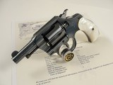 Beautiful Colt Pocket Positive .32 caliber 2.5'' 1935 with Mother of Pearl