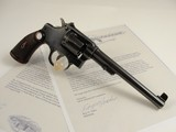 RARE 1927 Smith & Wesson REGULATION POLICE TARGET .32 with copy of Original invoice