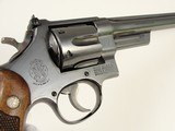"""Super-rare 27-1 S&W 1962 with 8 3/8"""" Barrel """"Dash-1"""" #'s matching stocks - 6 of 15"""