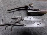 NR Davis 12 ga receiver,side plates,trigger assembly