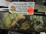 New, Winchester 70 Mossy Oak Syn. in 223 WSSM