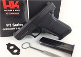 Heckler & Koch GMBH HK P7 9mm W Germany p7 P7 P7