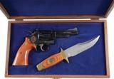 S&W 357 19-3 Texas Rangers Case Bowie Knife 1973d - 1 of 4