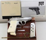 Factory Engraved Walther PPK/s PPKS .380 ACP - 2 of 18