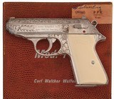 Factory Engraved Walther PPK/s PPKS .380 ACP - 1 of 18