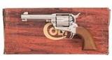 Nickel Colt 3rd Gen SAA .44 1980 4.75