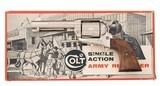 Scarce Nickel Colt 2nd Gen SAA 45 4.75