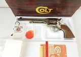 Colt SAA 44 SPL Nickel Walnut Box 7.5