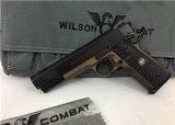 Wilson Combat Tactical Elite Armor Tuff 45 1911