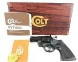 Colt Python 357 Mag 2.5