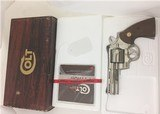 "Colt Python 357 mag Nickel 4"" 1979 Python Python"