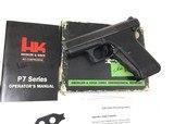 HK P7 9MM P7 PSP Box Proof Marks - 2 of 9