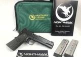 NIGHTHAWK CUSTOM 1911 Thunder Ranch 9mm Match