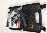Sig 365 9mm night sights 1 mag USED