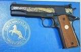Colt 1911 ACE .22 LR 1836 Sam 1981 Engraved - 2 of 7