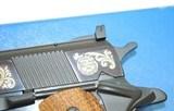 Colt 1911 ACE .22 LR 1836 Sam 1981 Engraved - 5 of 7