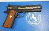Colt 1911 ACE .22 LR 1836 Sam 1981 Engraved - 3 of 7