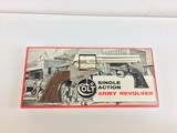 Colt SAA .45 LC Nickel Single Action Army 45 Long - 1 of 8