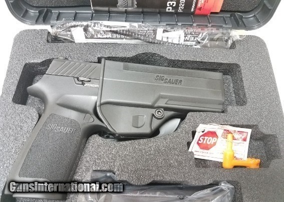 Sig P320 40 S&W 320F-40-BSS USED 320 FULL SIZE for sale