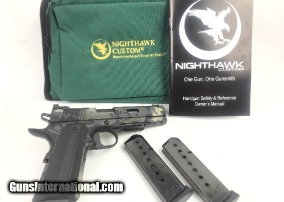 NIGHTHAWK CUSTOM AGENT2 1911  45 MATCH COMPETITION for sale