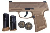 Sig P365 NRA FDE 9mm 365-9-COYXR3-NRA19