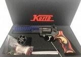 KORTH NIGHTHAWK CUST. SUPERSPORT Blue 9mm/357 RARE