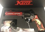 KORTH NIGHTHAWK CUST. SUPERSPORT RED 9mm/357 RARE