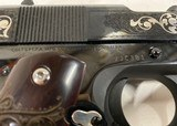 Gustave Young Colt .45 ACP Series 70 Gov't Engraved 1911 BEAUTIFUL - 6 of 25