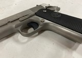 Colt 1911 .45 ACP Government Model brushed stainless - 4 of 8