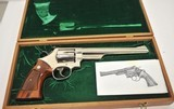 """Smith & Wesson 29-2 .44 Mag 8 3/8"""" Nickel - 1 of 11"""