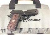 Wilson Combat X tac Elite compact .45 4