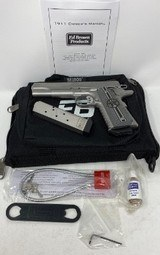 Ed Brown 1911 45 ACP Texas Edition Stainless - 1 of 16