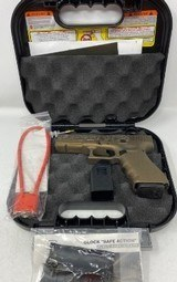 Glock 22 Gen 4 .40 S&W Burnt Bronze Cerakote Finish w/ night sights one mag