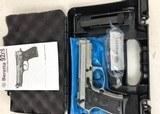 Beretta 92 FS 9mm Compact INOX Rail J90C9F20