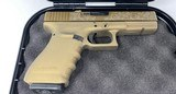 Glock 21 G21 Gen 3 .45 Auto .45 ACP Burnt Bronze cerakote - excellent cond. - 1 of 18
