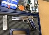 Colt 1911 Lew Horton Bright SS .45 ACP O1091