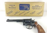 Smith & Wesson K-22 Masterpiece 22LR 5 Screw Box