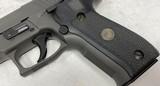 Used Sig Sauer P226 Legion .357 SIG 4.4