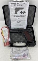 American Tactical Imports FX1911 Black 9mm ATI 4.25-inch 9Rds ATIGFX9GI