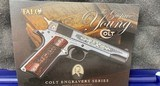Gustave Young Colt .45 ACP Series 70 Gov't Engraved 1911 BEAUTIFUL - 4 of 21