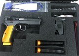 CZ SP-01 SHADOW ORANGE 9mm 91764 COMP CUSTOM MATCH