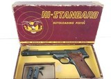 Hi-Standard Supermatic Trophy .22 LR 106 Military