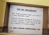 Hi-Standard Supermatic Trophy .22 LR 106 Military - 23 of 24