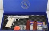 Colt Custom Govt 38 .38 Super 02071ELC2 Bright Sts