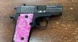 Sig Sauer 238 Pink Pearl 380 ACP 238-380-BSS-ESP - 2 of 3