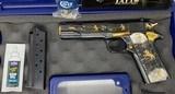 Colt TALO Aztec Jaguar Azul Select O2991Z 1 of 20 #7 38Super POLISHED BLUE - 2 of 17