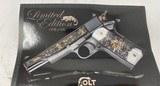 Colt TALO Aztec Jaguar Azul Select O2991Z 1 of 20 #7 38Super POLISHED BLUE - 4 of 17