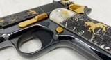 Colt TALO Aztec Jaguar Azul Select O2991Z 1 of 20 #7 38Super POLISHED BLUE - 12 of 17